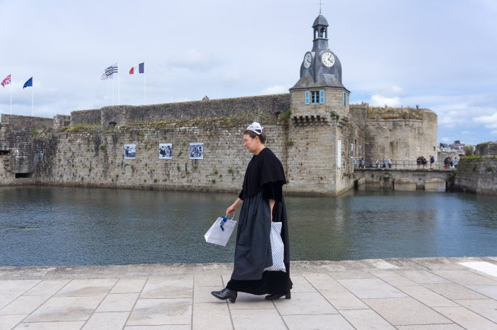 Fête bretonne à Concarneau