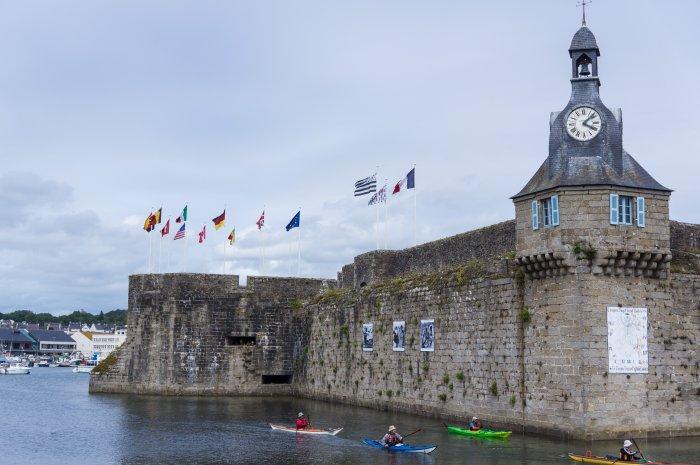 Vieille ville de Concarneau, Bretagne