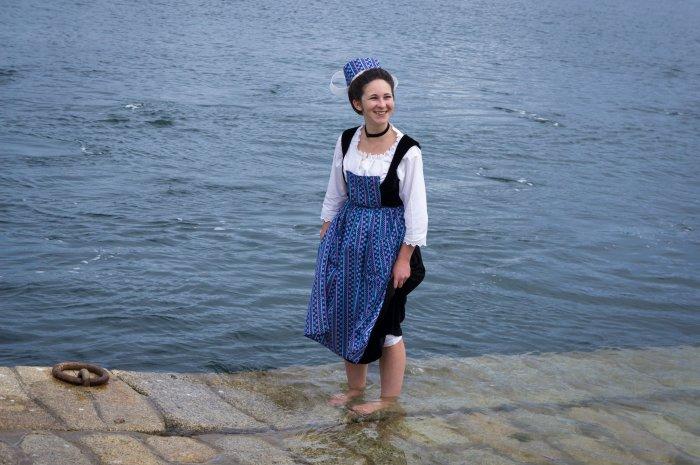 Fête traditionnelle bretonne