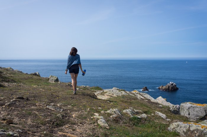 Promenade sur la Pointe du Van, Bretagne