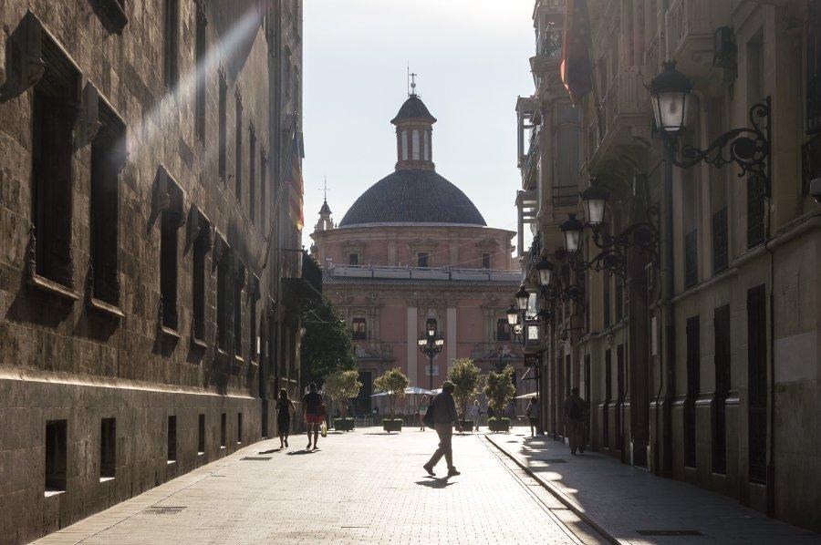 Centre-ville de Valence, Espagne