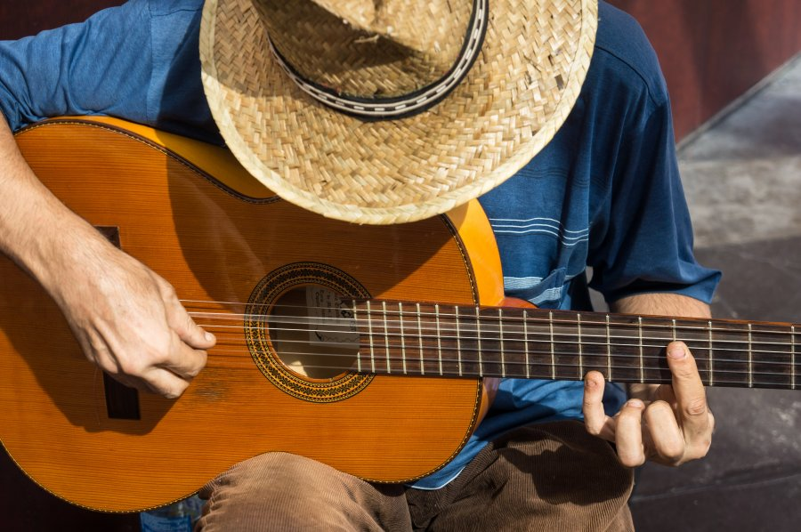 Guitariste espagnol