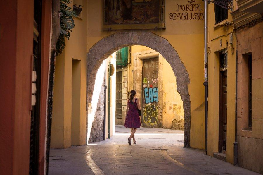 Promenade dans Valencia