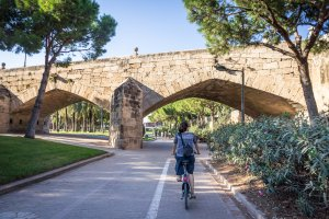Jardins du Túria, Valence, Espagne