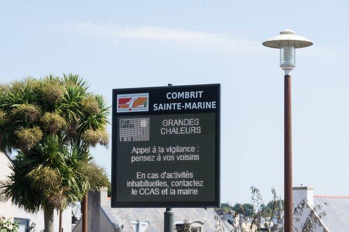Alerte canicule en Bretagne
