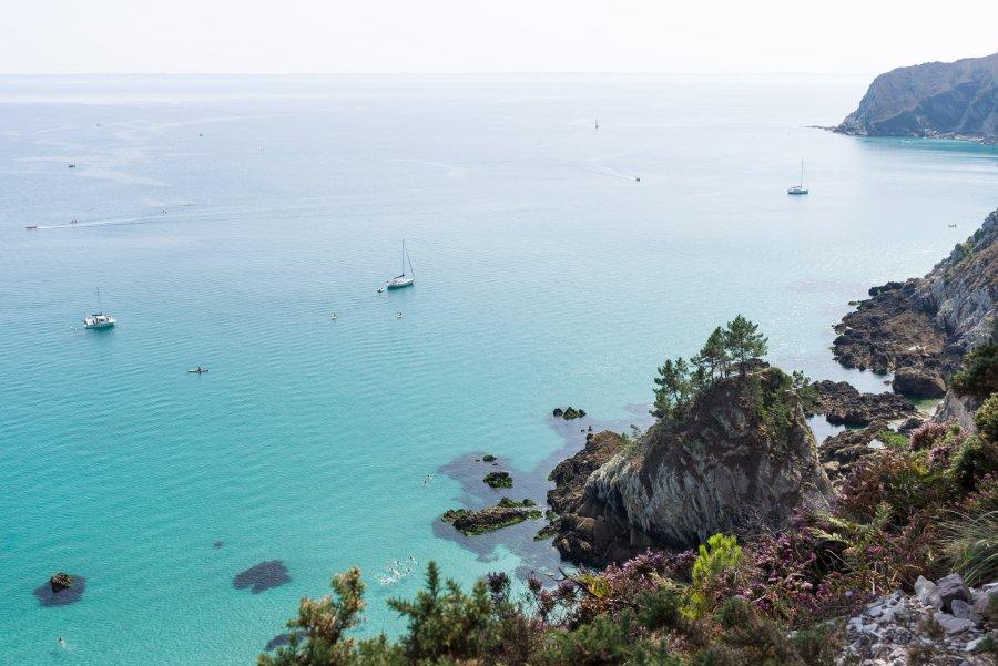 Île vierge, Crozon, Bretagne