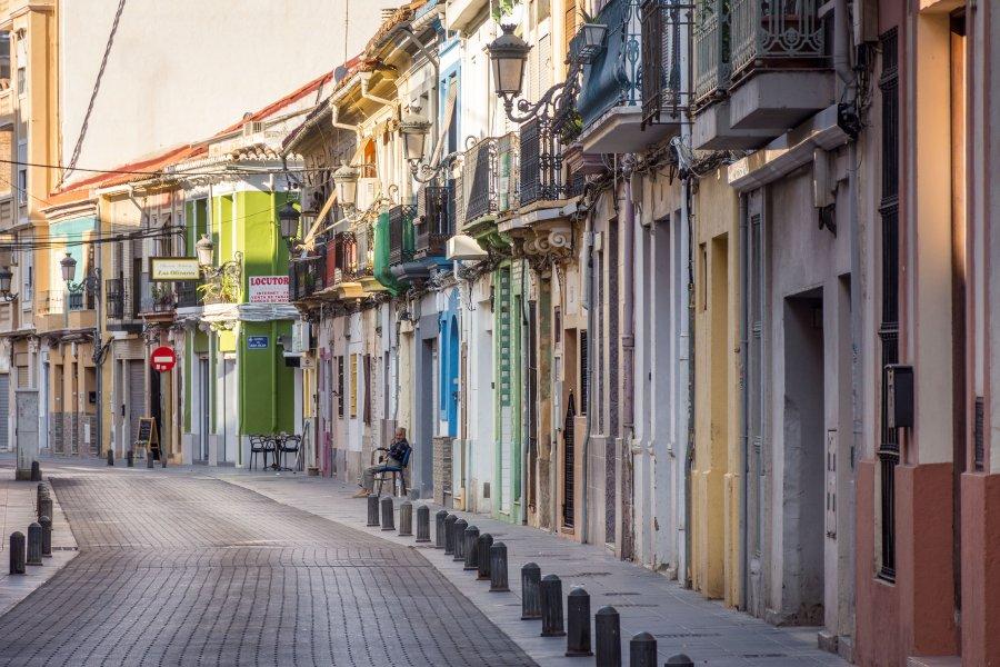 Quartier El Cabanyal, Valence