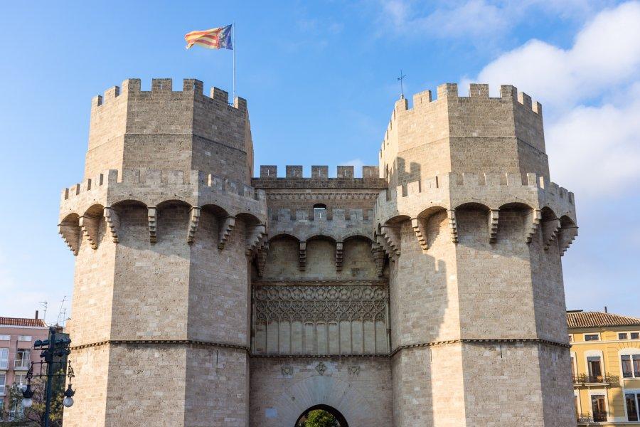 Torres de Serranos, Valencia, Espagne