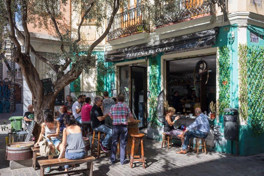 Quartier de Carmen, Valence, Espagne