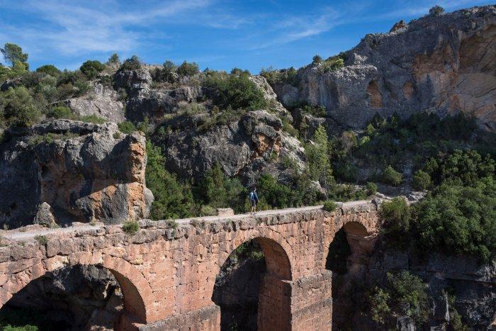 Peña Cortada, Aqueduc romain, Espagne