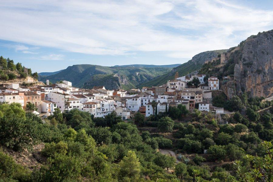 Village de Chulilla, Espagne