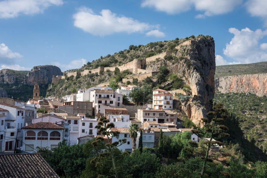 Village de Chulilla, Valence, Espagne