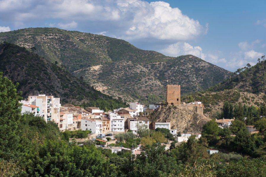 Village de Chera, Valence, Espagne