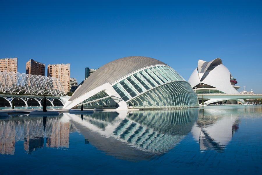 Cité des sciences, Valence, Espagne