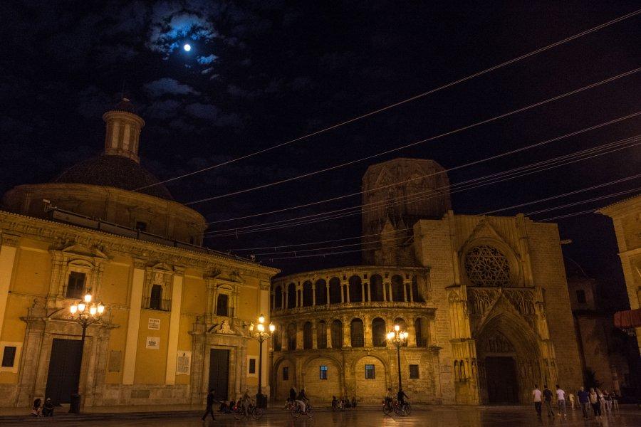 Valence, Espagne, de nuit