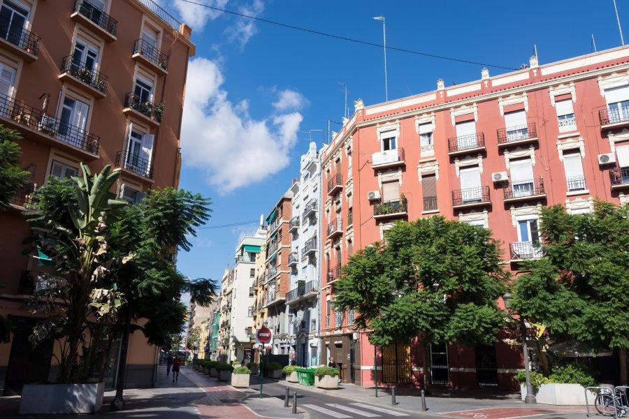 Quartier de Ruzafa, Russafa, Valence