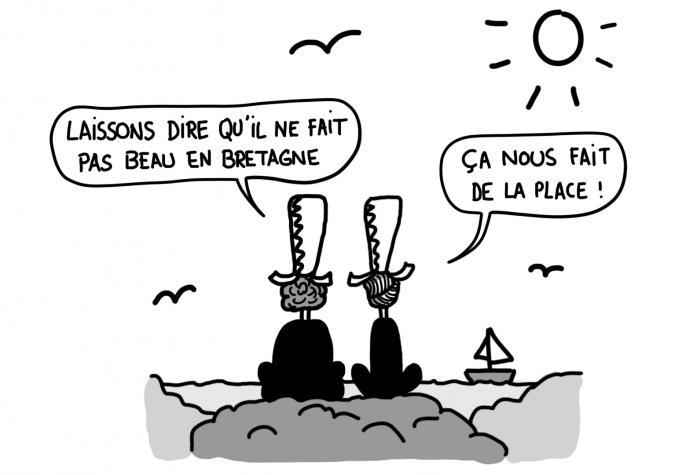 La météo en Bretagne, vue par les Bretons