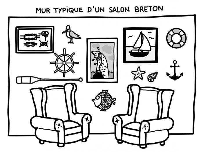 Les Bretons aiment la mer, et ça se voit chez eux...