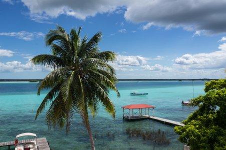 Lagune de Bacalar, Yucatán, Mexique
