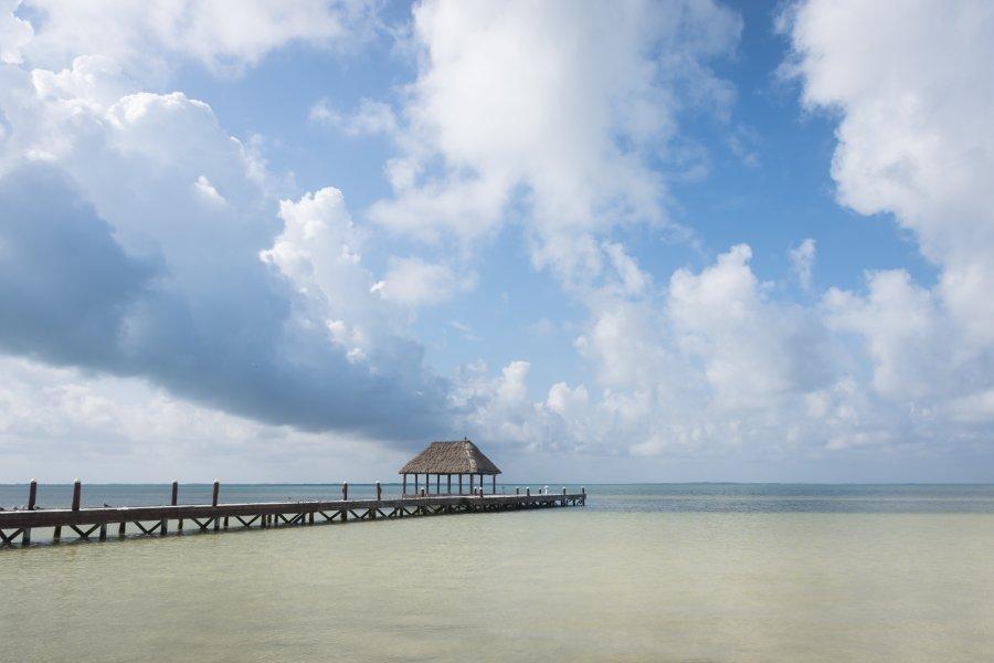Punta Coco, Holbox, Mexique