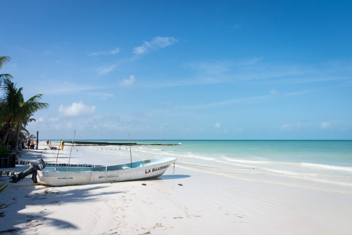 Plage d'Holbox, Mexique