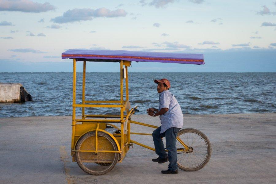 Vendeur de rue mexicain