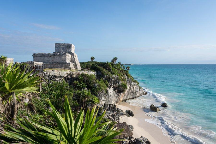 Temples maya de Tulum, Yucatán, Mexique