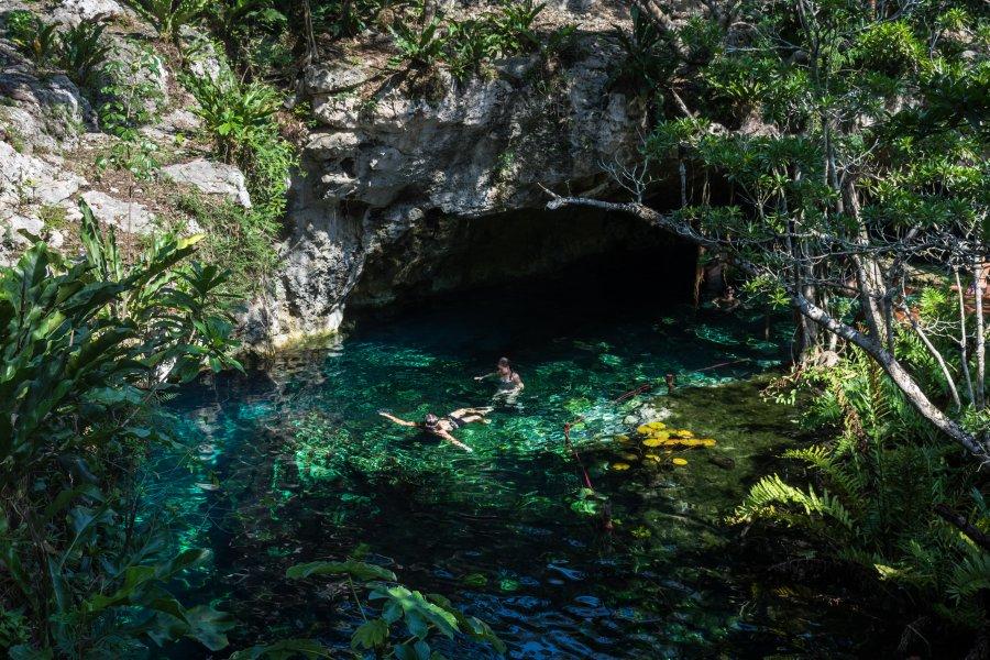 Gran Cenote, Tulum, Mexique
