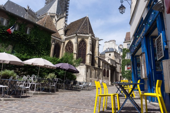 La rue des Barres, à Paris