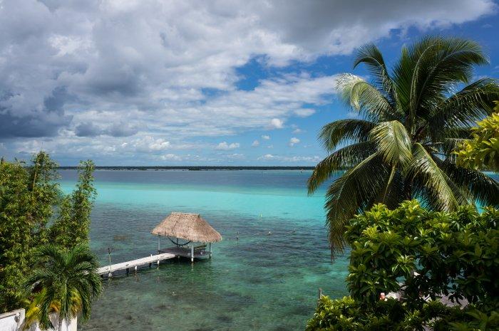 Lagune de Bacalar, Mexique