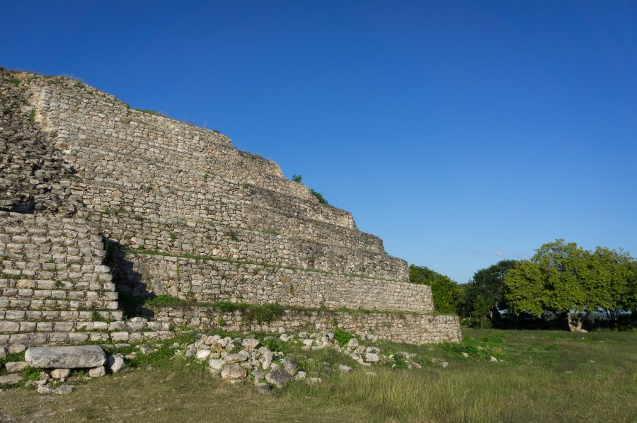 Pyramide maya à Izamal, Mexique