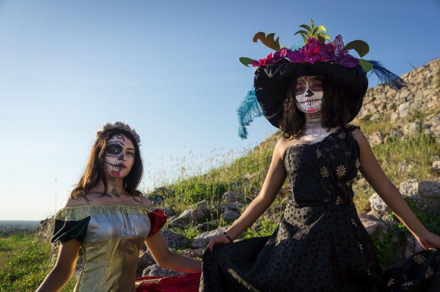 Fête des morts à Izamal, Mexique