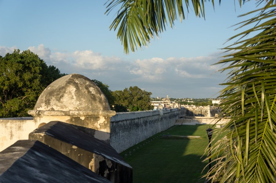 Remparts de Campeche, Mexique