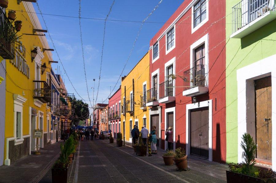Ville de Puebla, Mexique