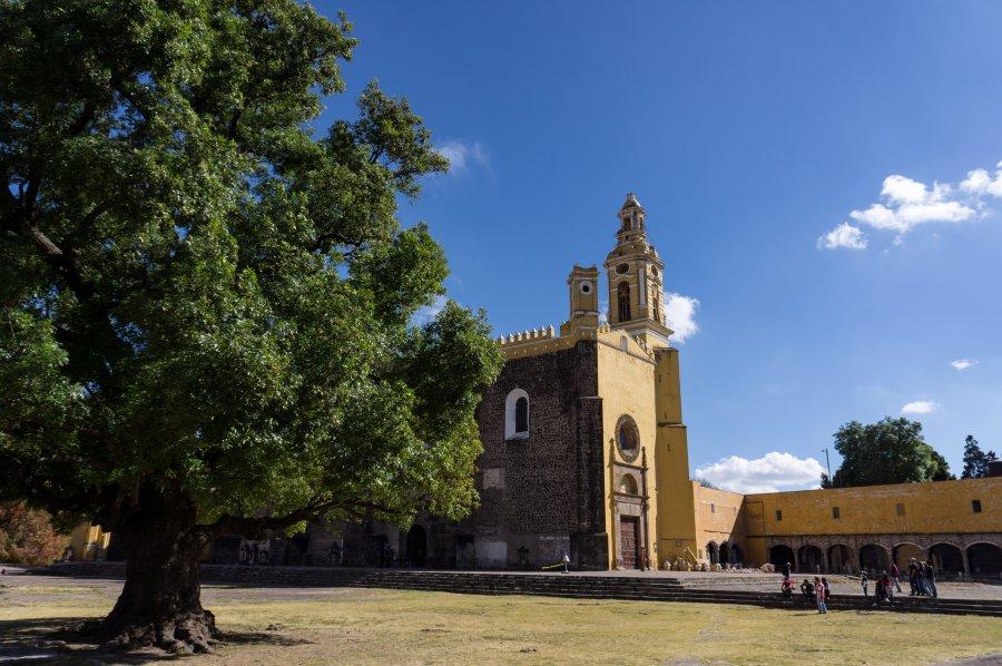 Couvent de Cholula, Puebla, Mexique