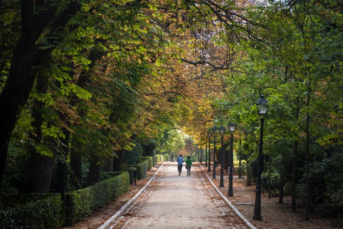 Parc retiro à Madrid