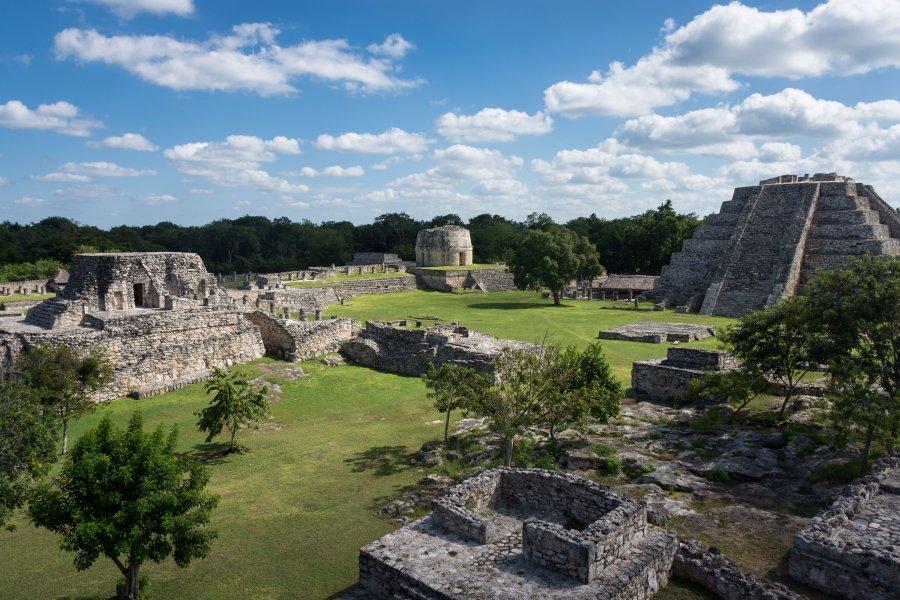 Site archéologique de Mayapan, Mexique