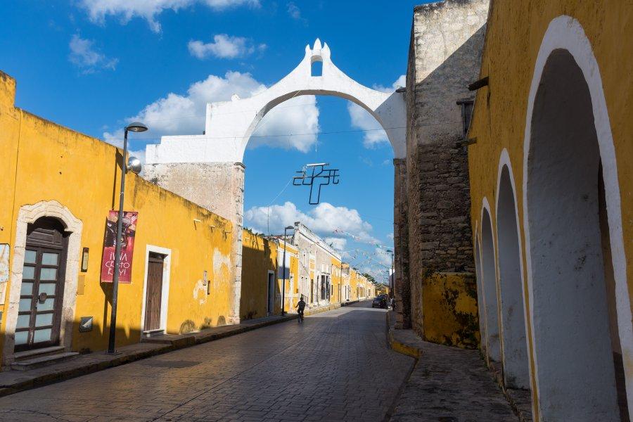 Ville d'Izamal, Yucatán, Mexique