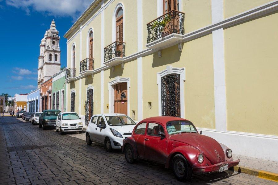 Ville de Campeche, Yucatán, Mexique