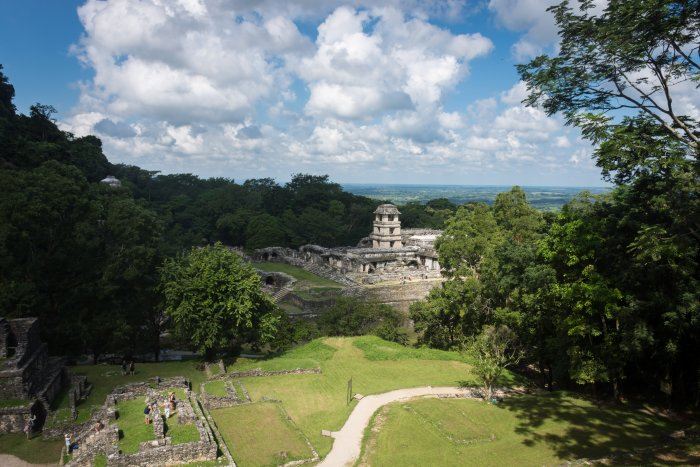 Palenque, Mexique