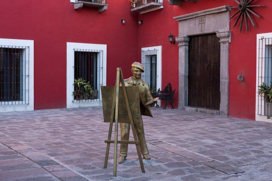 Quartier des artistes à Puebla