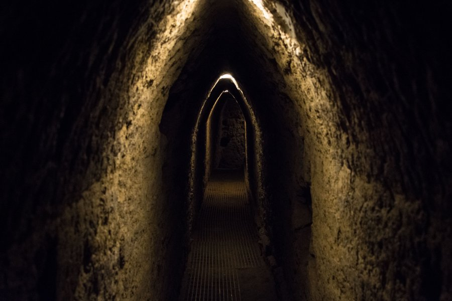 Tunnels de Cholula, Puebla, Mexique
