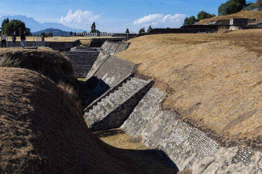 Zone archéologique de Cholula, Puebla, Mexique
