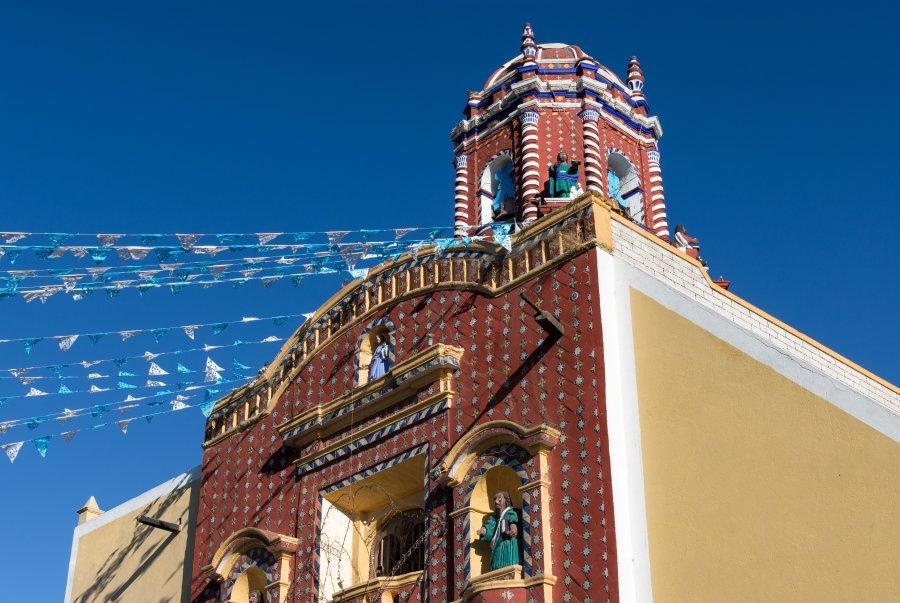 Église de Tonantzintla, Puebla, Mexique