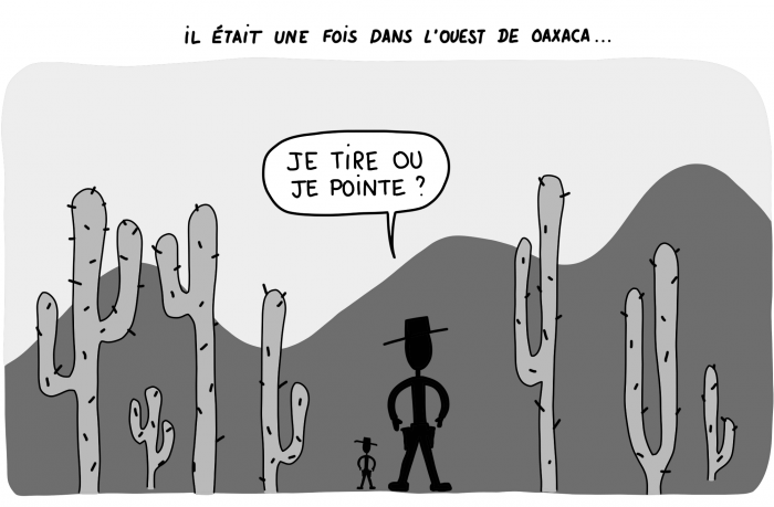 Dessin : un air de western au Mexique