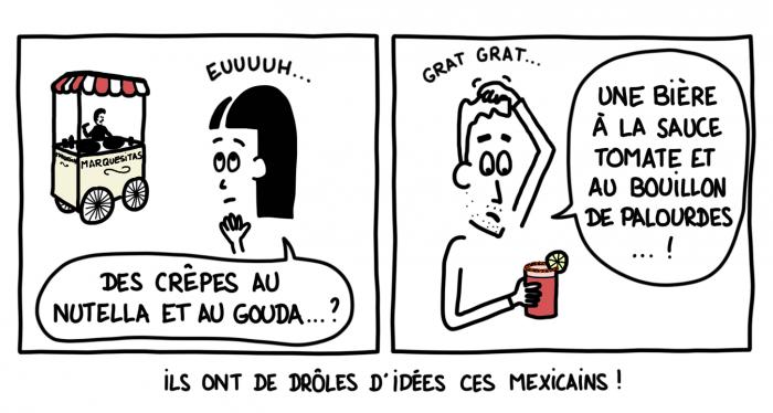 Spécialités mexicaines étranges