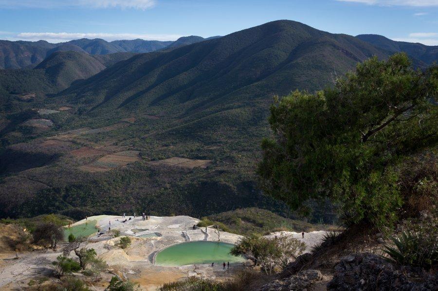 Hierve el Agua, Oaxaca, Mexique