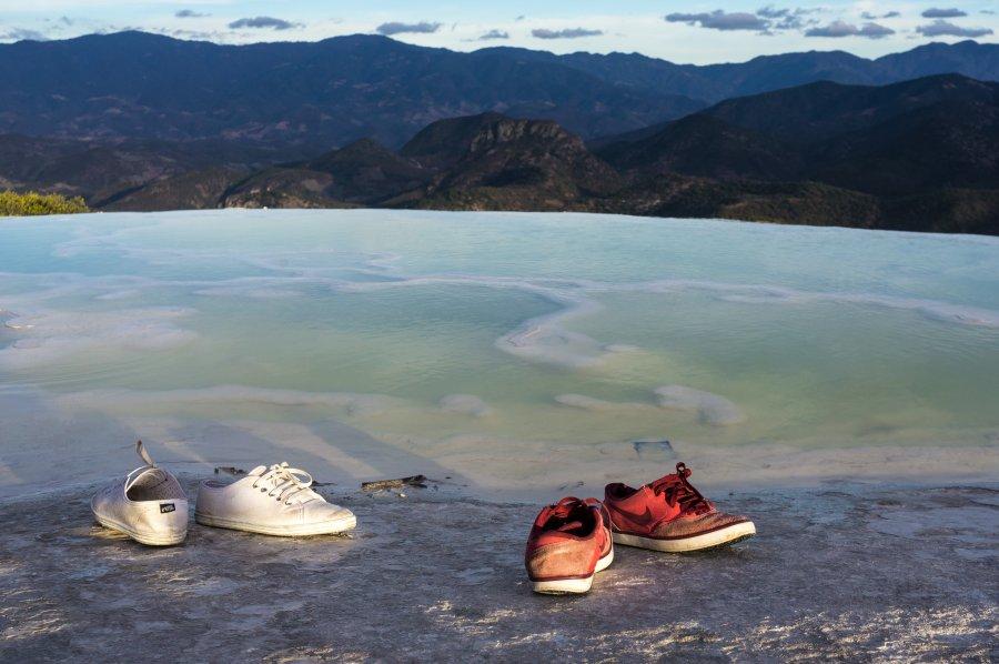 Piscine naturelle de Hierve el Agua, Mexique