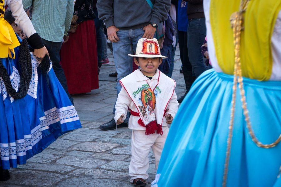 Mariage à Oaxaca, Mexique