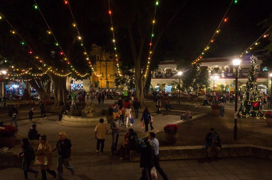 Oaxaca de nuit, Mexique